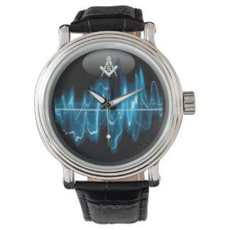 Masonic Blue house SoundWave Watch