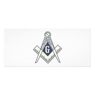 Masonic Blue Lodge Coupon Cards Rack Card Template