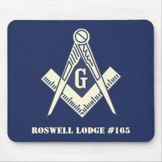 Masonic Blue Lodge Mouse Pad