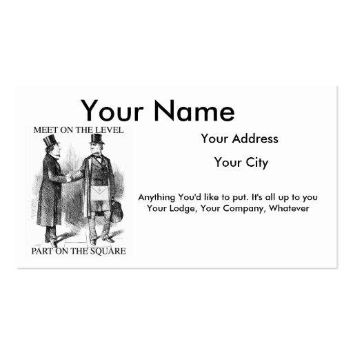 Masonic business card templates bizcardstudio masonic business cards colourmoves