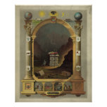 Masonic chart [1872] posters