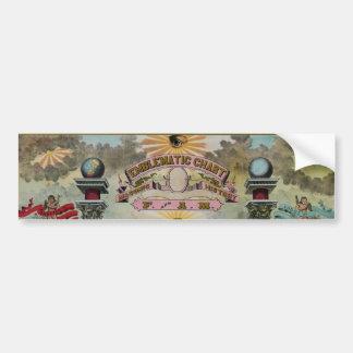 Masonic Chart 2 Bumper Sticker