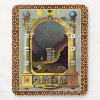 Masonic Chart 2 Mouse Pad