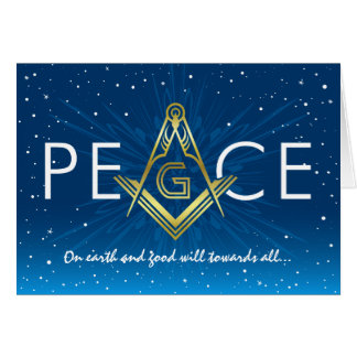 Masonic Christmas Greeting Cards | Zazzle