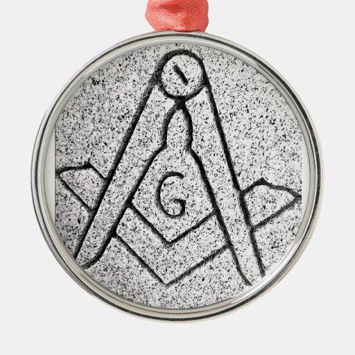 Masonic Christmas Christmas Ornament