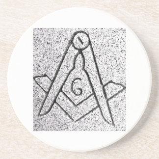 Masonic Coaster