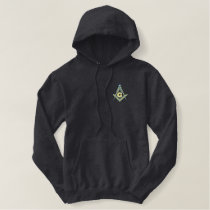 Masonic Custom Embroidery Embroidered Hoodie