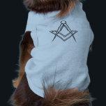 "Masonic Dog Shirt<br><div class=""desc"">Keep your pet cosy this winter</div>"