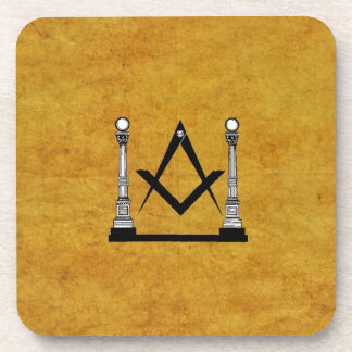 Masonic Drink Coaster