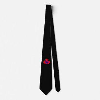 Masonic Emblem Canada Tie