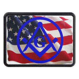 Masonic Emblem Tow Hitch Cover