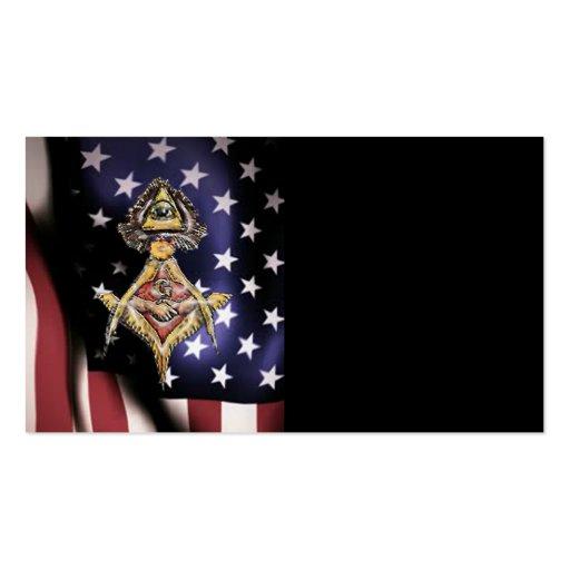 Masonic EyeSs Business Card