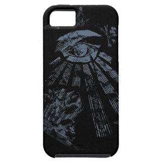 Masonic Fantasy blue iPhone SE/5/5s Case