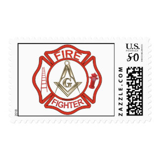 MASONIC FIRE-FIGHTERS POSTAGE