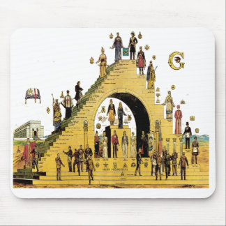 Masonic Free Masonary Mouse Pad Steps PHA