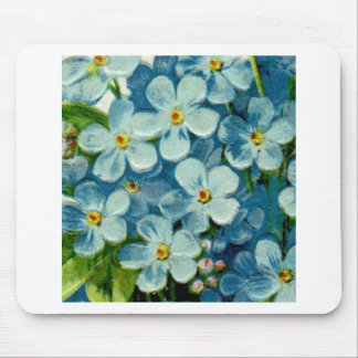 Masonic Freemason Forget-Me-Nots Mouse Pad
