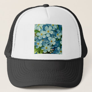 Masonic Freemason Forget-Me-Nots Trucker Hat