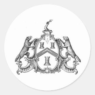 Masonic Freemason Freemasonry Mason Masons Masonry Classic Round Sticker