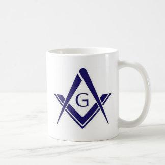 "Masonic ""G"" Products Classic White Coffee Mug"