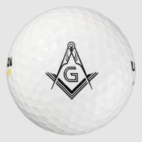 Masonic Golf Ball Stamp | Custom Freemason Gifts