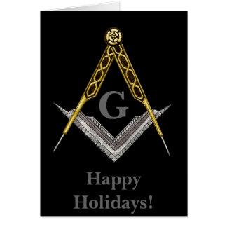 Masonic Holiday Card