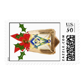 Masonic Holiday Lantern Postage