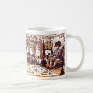 Masonic Initiation Classic White Coffee Mug