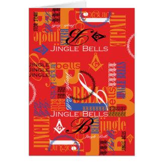 Masonic Jingle Bells Card