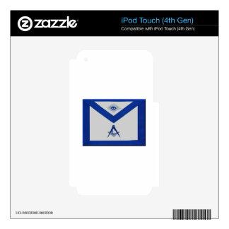 Masonic Junior Deacon Apron Skin For iPod Touch 4G
