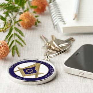 Masonic key chain F.A.M PHA