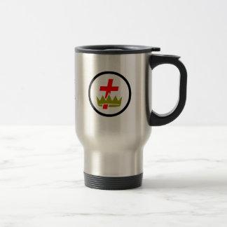 Masonic Knights Templar Travel Mug