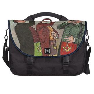 Masonic laptop bag