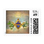 Masonic Life (Cosmos) Postage