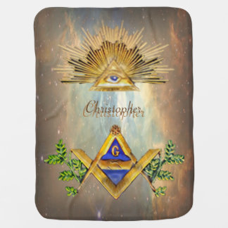 Masonic Life (Cosmos) Swaddle Blanket