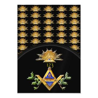 Masonic Life Magnetic Card