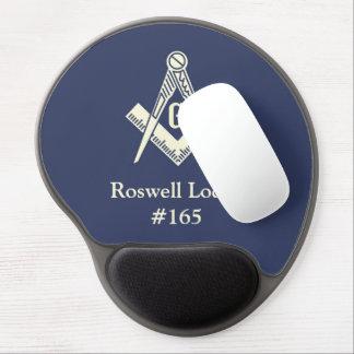Masonic Lodge gel mousepad