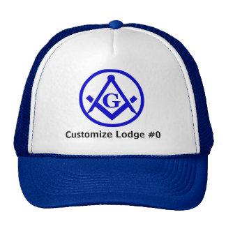 Masonic Lodge Mesh Hats