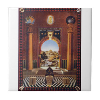 Masonic Lodge Tile