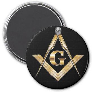 masonic magnet black