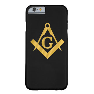 """Masonic """"Mason for Life"""" Barely There iPhone 6 Case"""