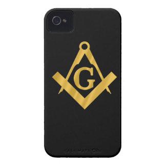 """Masonic """"Mason for Life"""" iPhone 4 Case"""