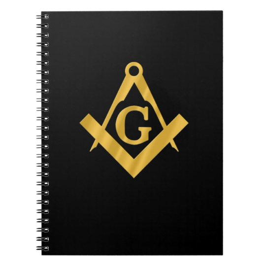 "Masonic ""Mason for Life"" Notebook"
