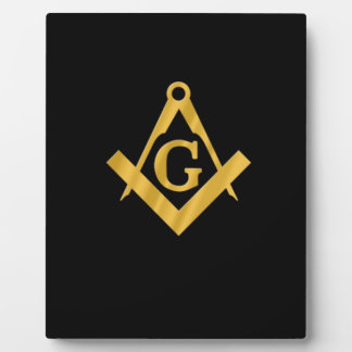 "Masonic ""Mason for Life"" Plaque"