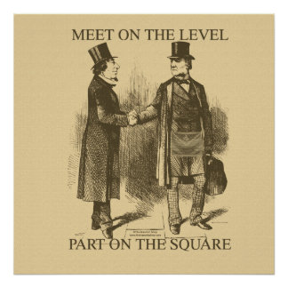 Masonic Meeting Poster