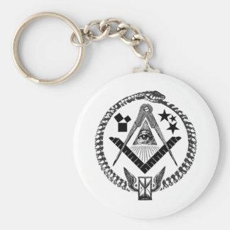 Masonic Memorabilia Keychain