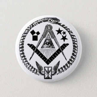 Masonic Memorabilia Pinback Button