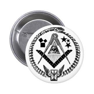 Masonic Memorabilia Pinback Button