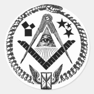 Masonic Memorabilia Stickers