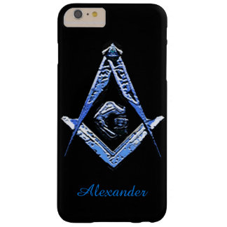 Masonic Minds (Blue) Barely There iPhone 6 Plus Case