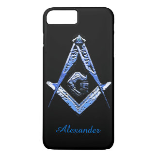 Masonic Minds (Blue) iPhone 8 Plus/7 Plus Case